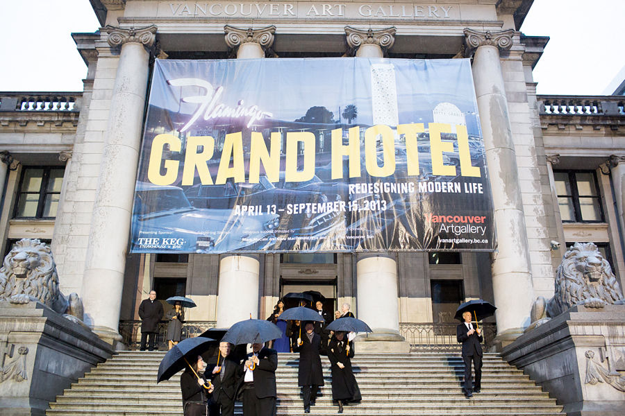Grand Hotel Gala Vancouver Art Gallery and Four Seasons Hotel