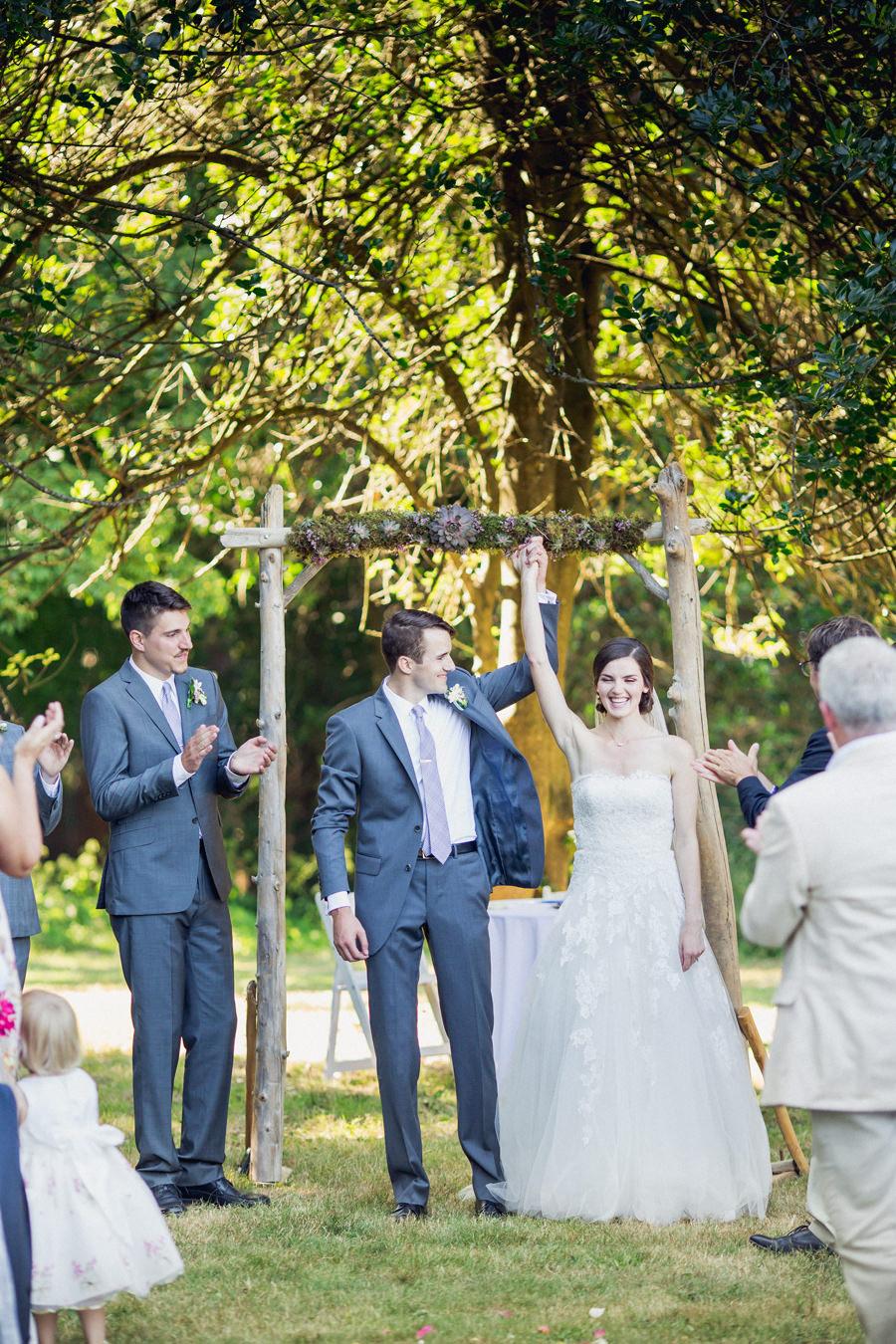Queen Elizabeth Park Outdoor Wedding Ceremony