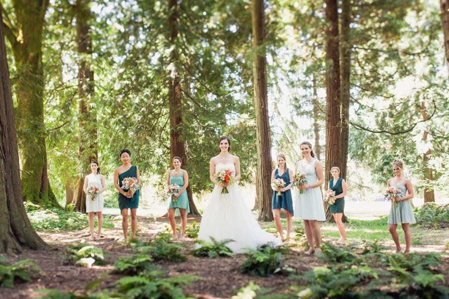 Queen Elizabeth Park Bridesmaids