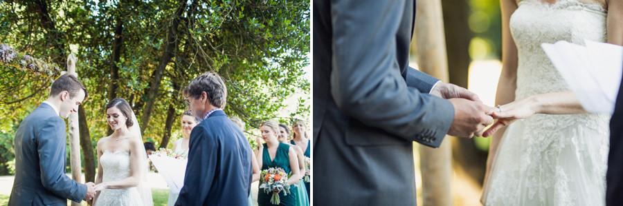 Queen Elizabeth Park Intimate Outdoor Wedding