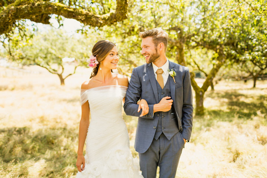 Matt and Kristine - Glenrosa Wedding Photographer