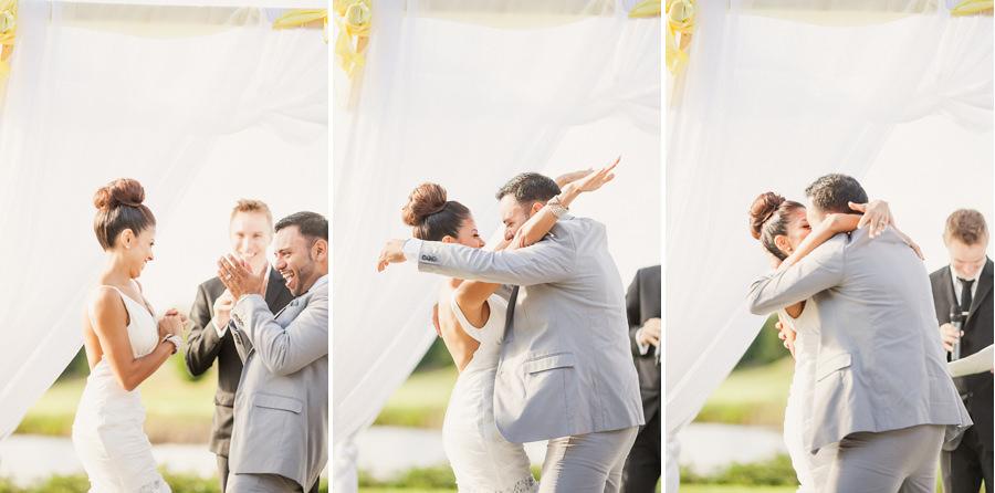 The Kiss - Vancouver Wedding Photographer