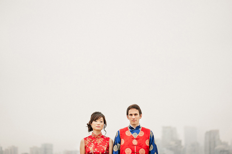 Chinese Tea Ceremony Wedding Attire