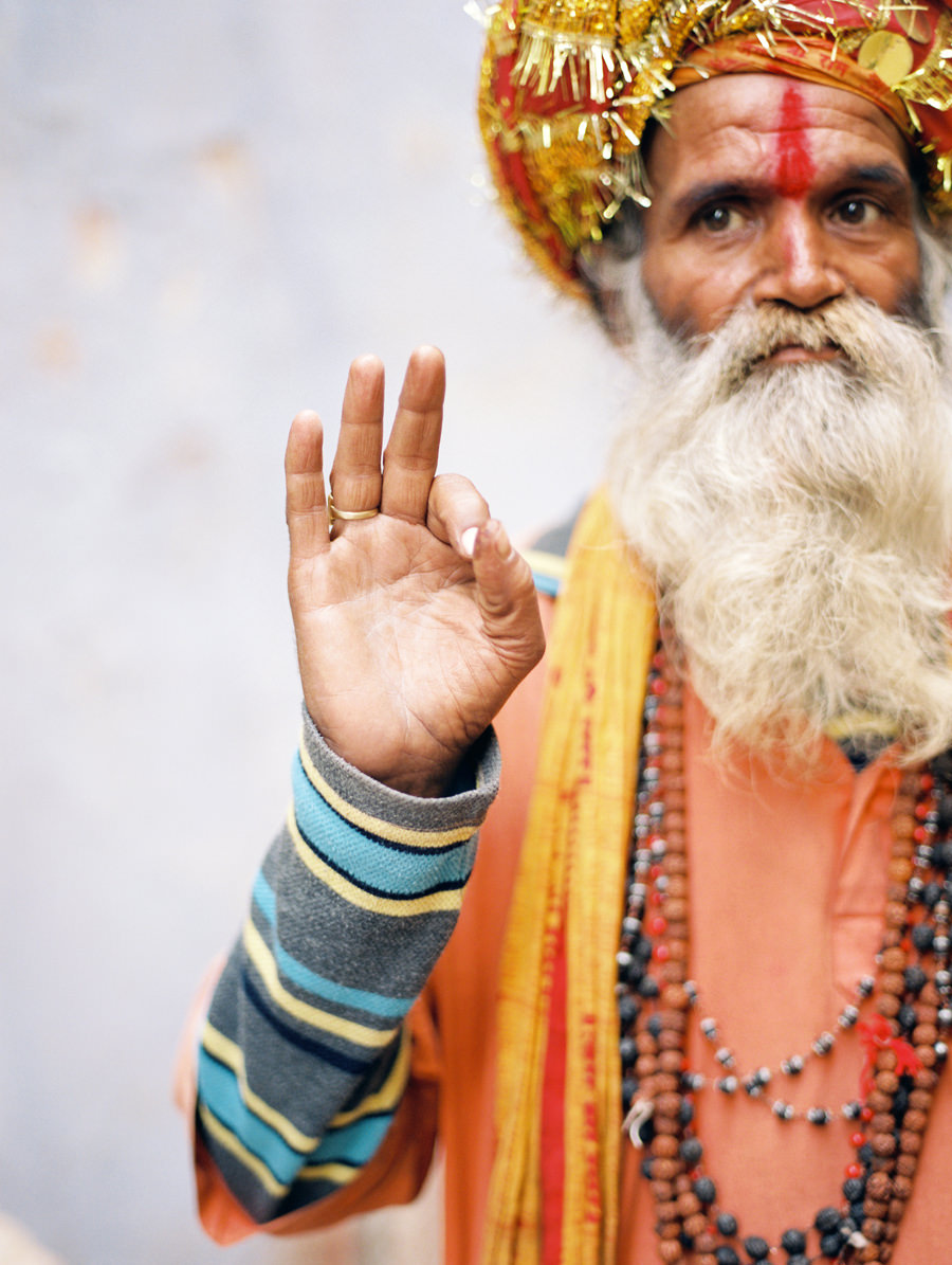 India Portrait Photographer, Varanasi Sadhu