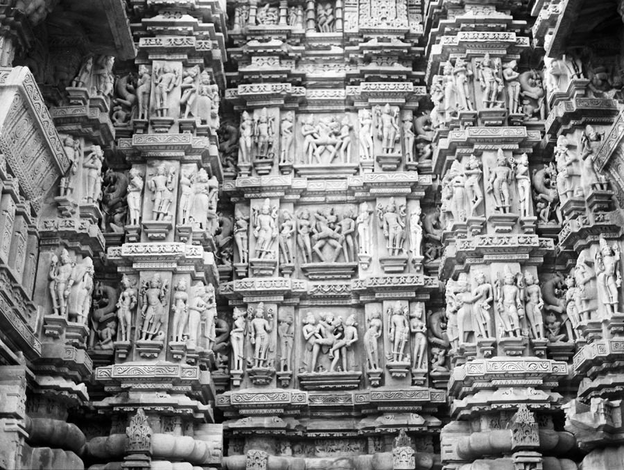 erotic art on temples in India