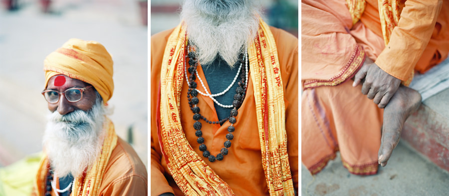 Details of a Sadhu in India