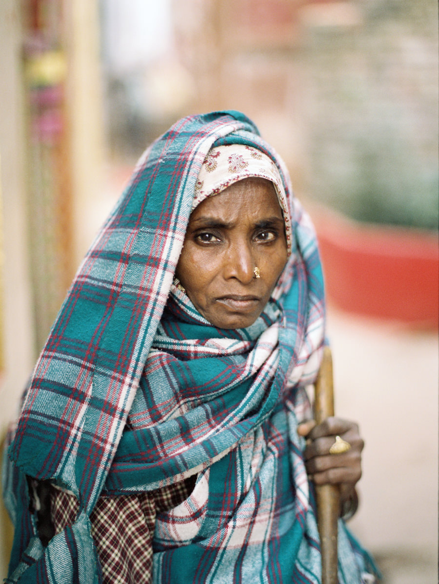 Street Sweeper, India Portrait Photographer