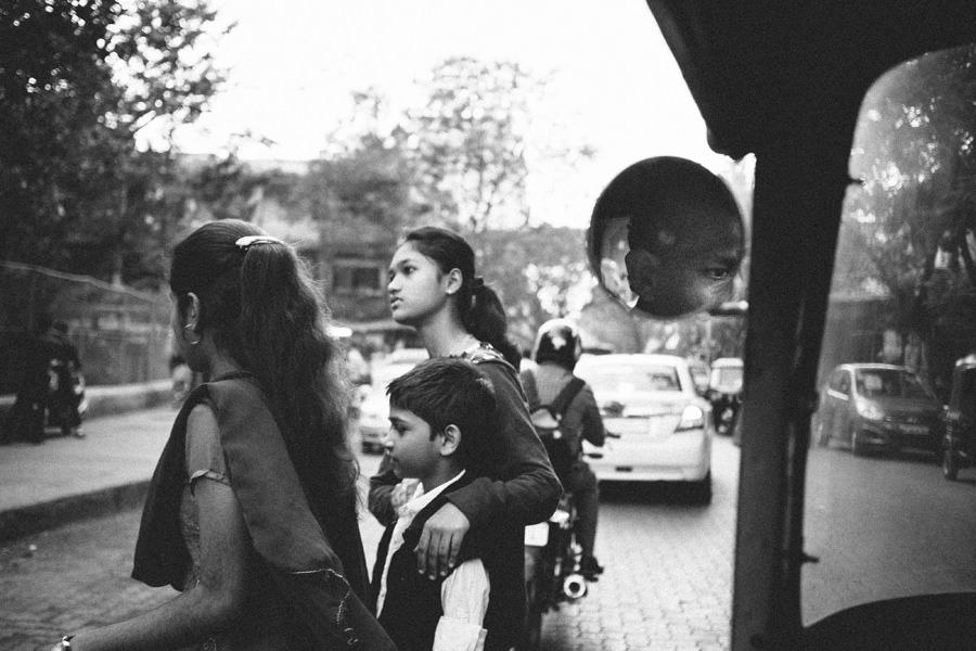 Mumbai Rikshaw Driver