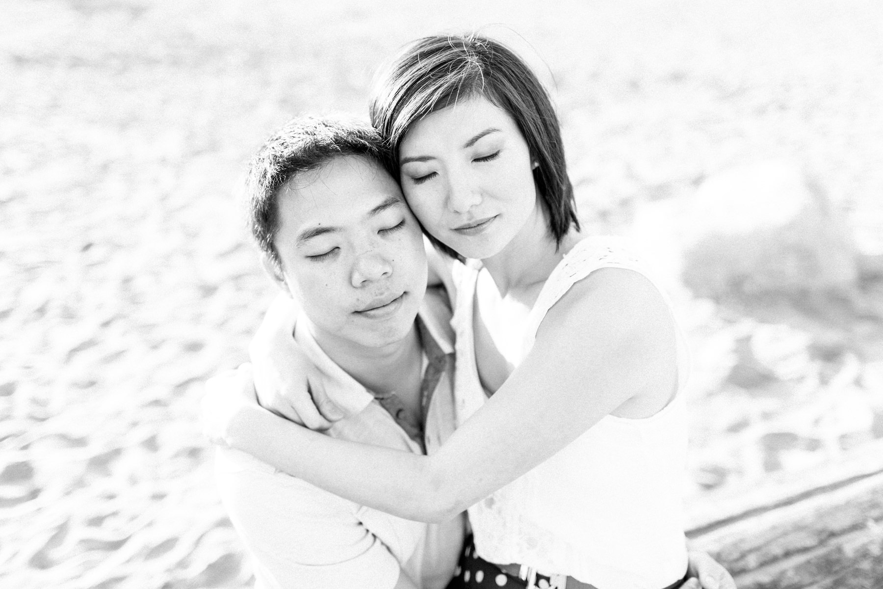 Spanish Banks Pre Wedding Session