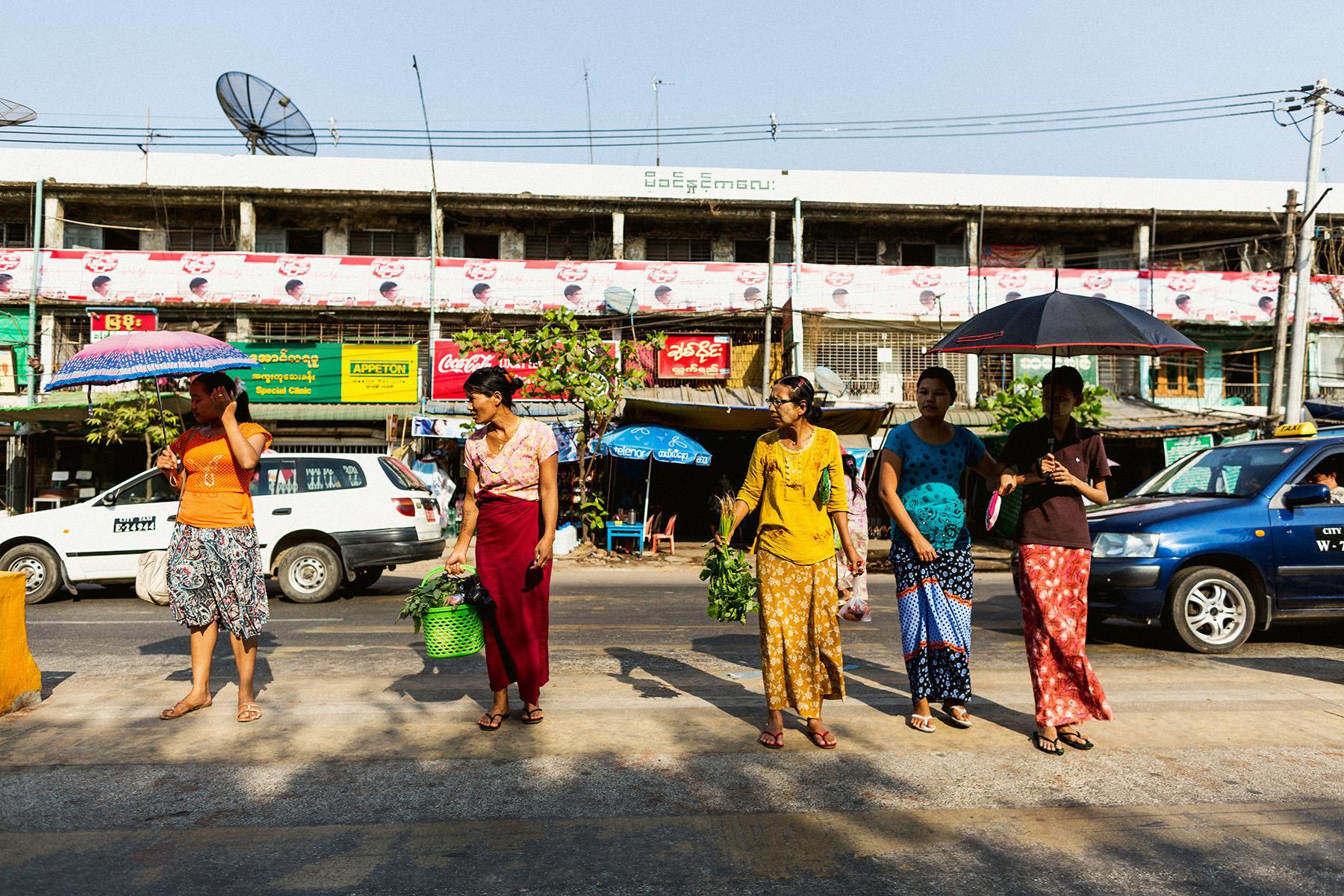 Yangon Street Photography
