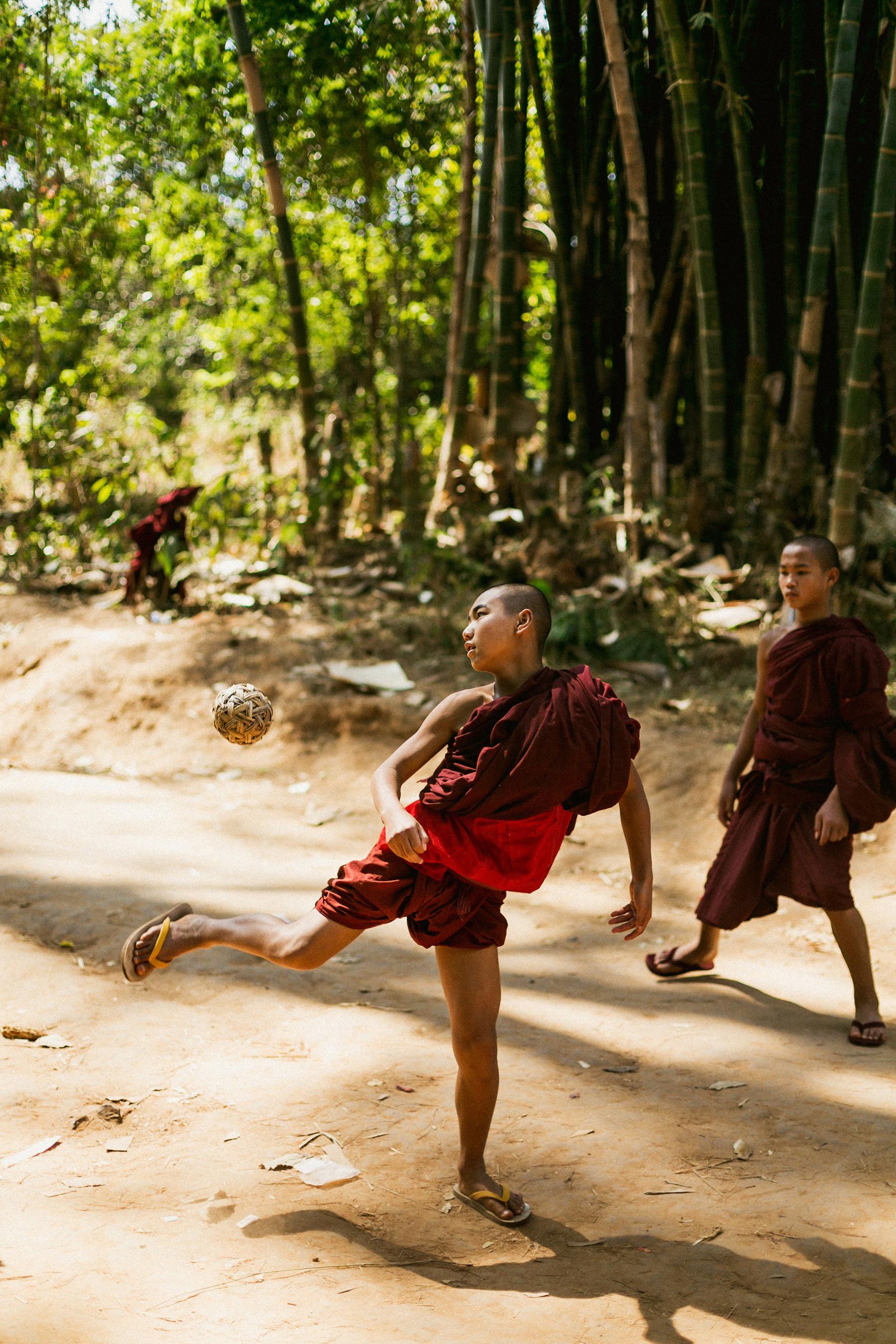 Myanmar Novice Monks1