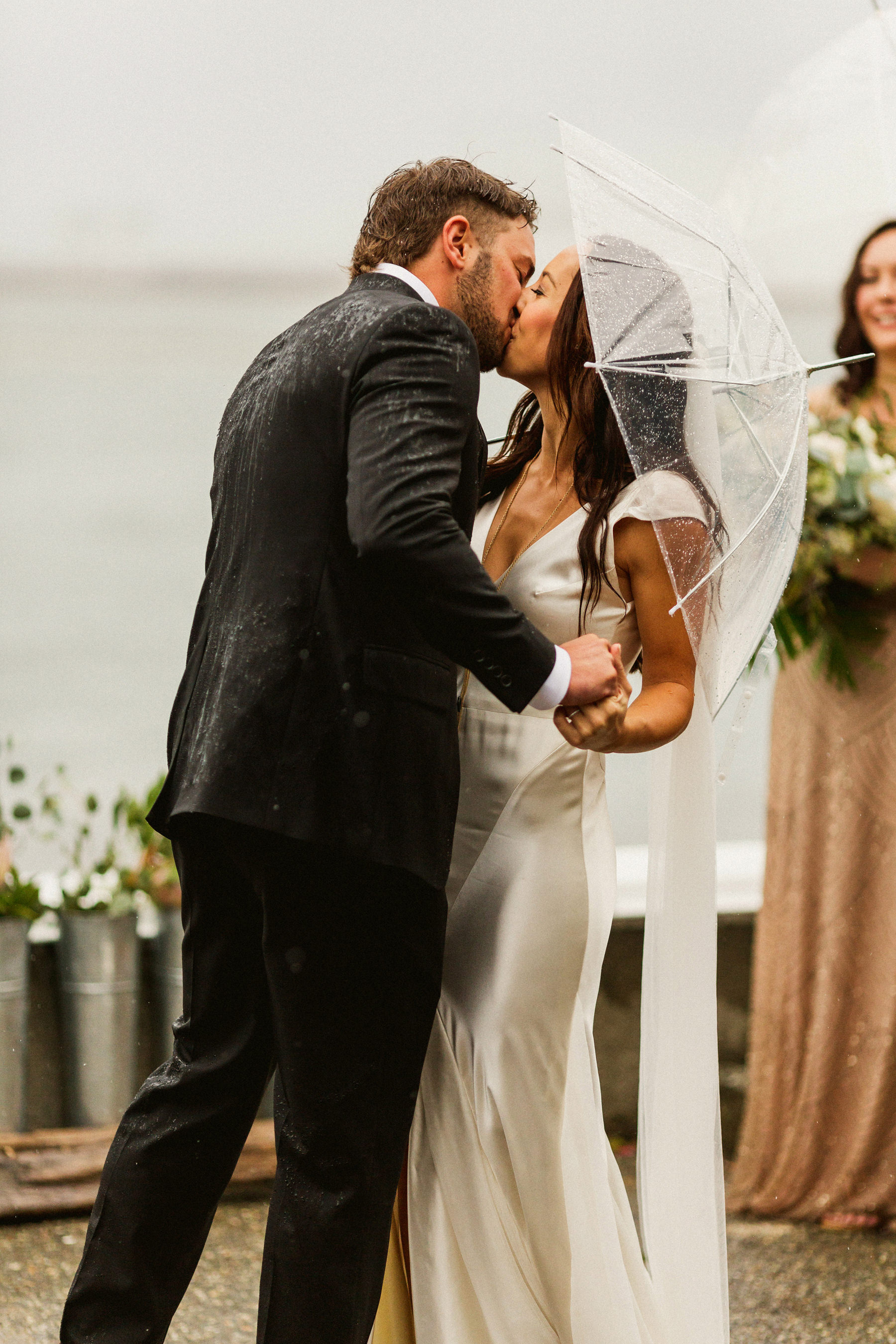 First Kiss in the Rain