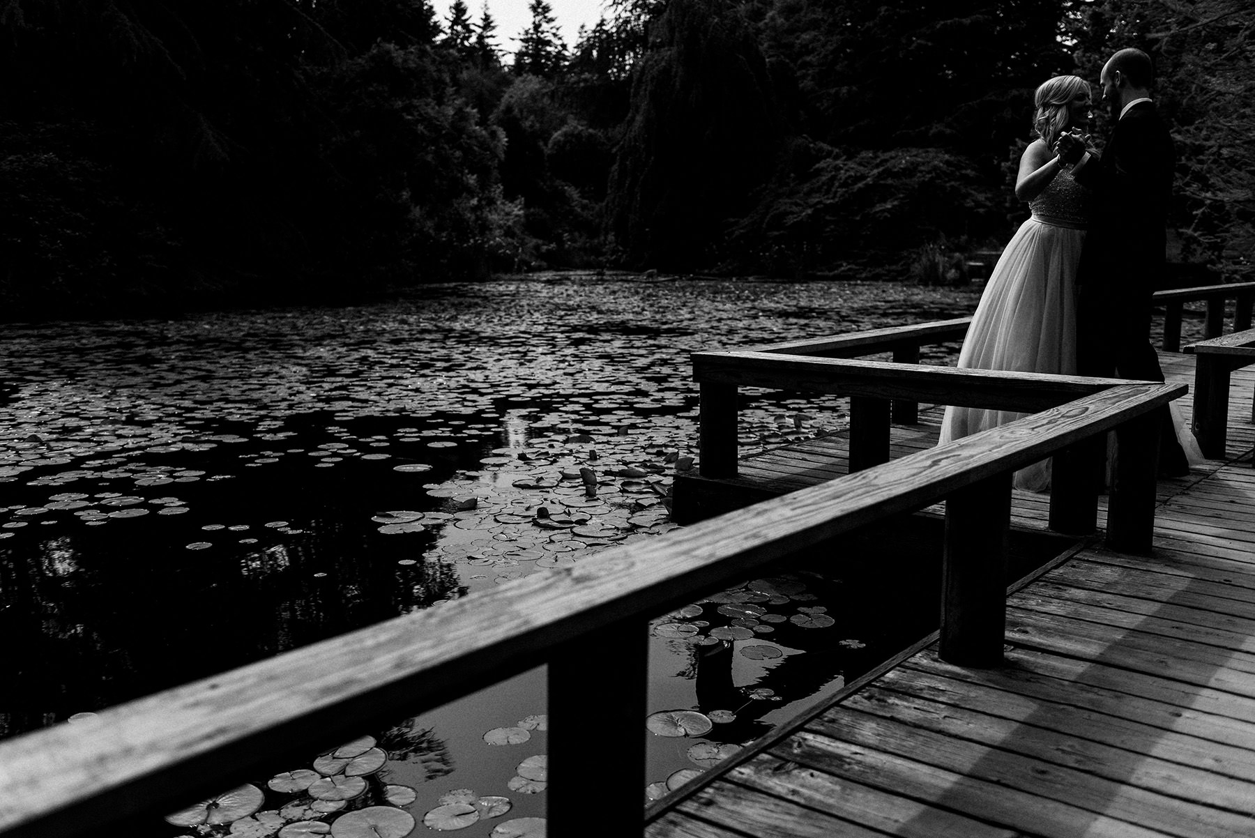 BlackWhiteWeddingVancouver