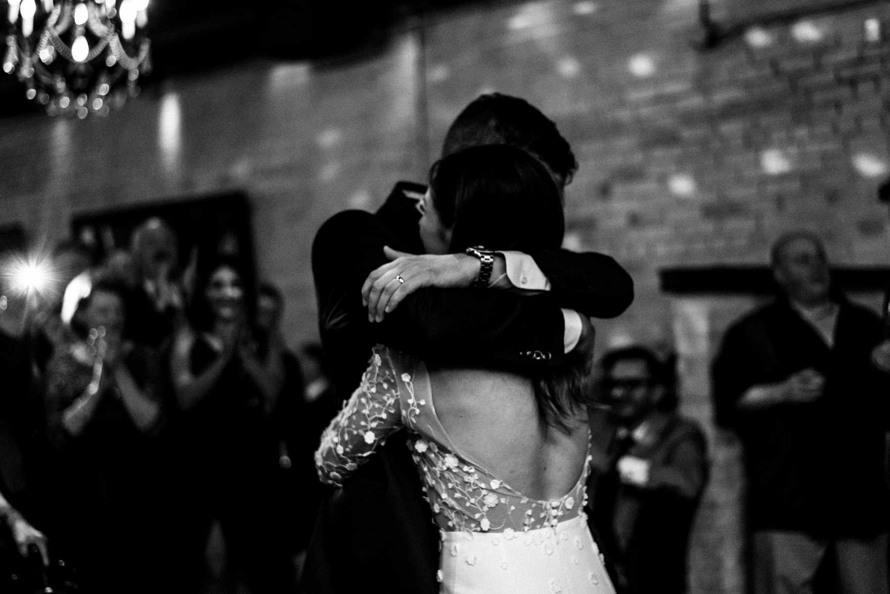 First Dance at Brix & Mortar in Yaletown