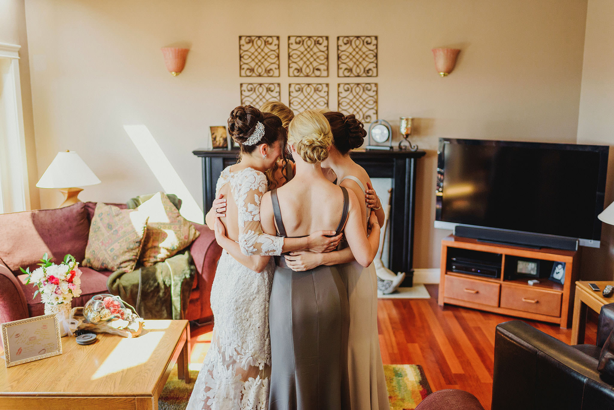 Bridal Party Getting Ready in Vancouver