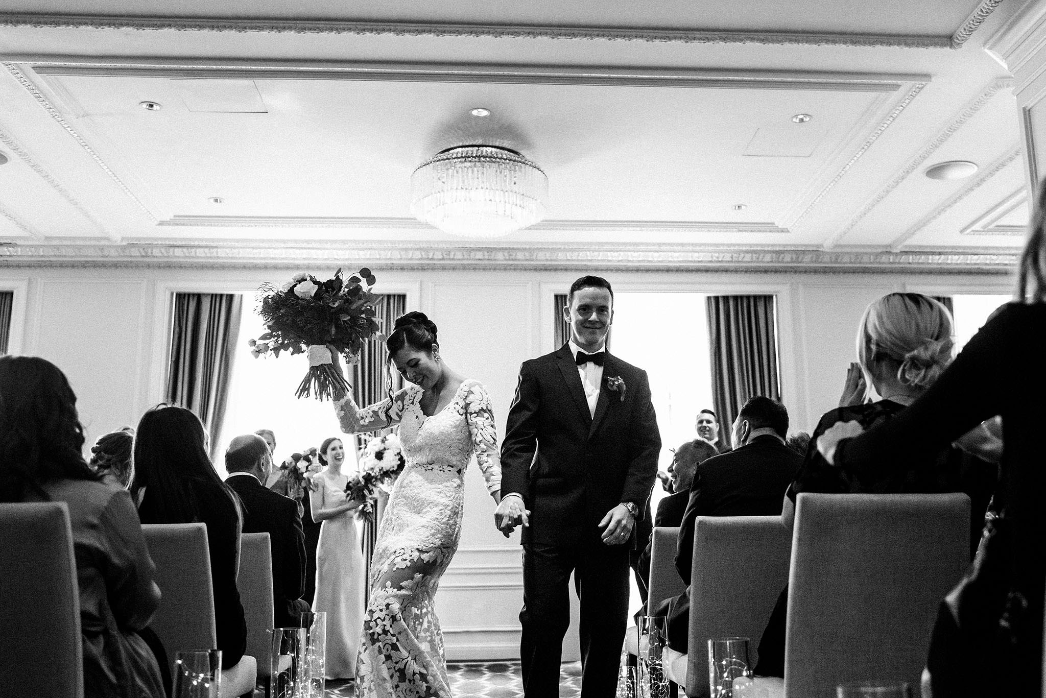 Hotel Georgia Wedding Photographer Ceremony
