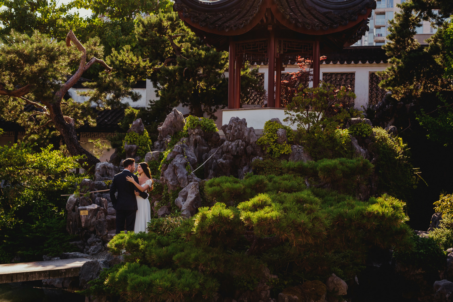 Dr. Sun Yat-Sen Classical Chinese Gardens Wedding Photographer