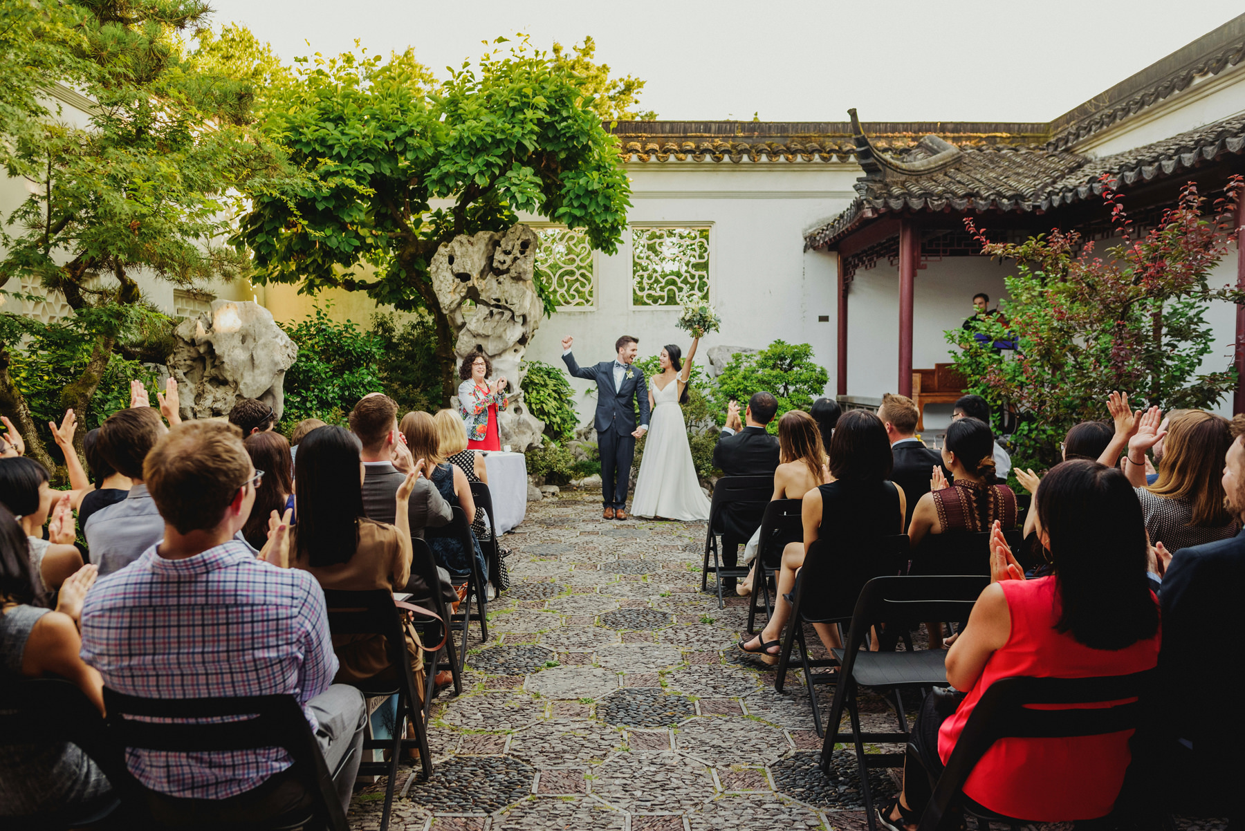 Dr. Sun Yat-Sen Classical Chinese Gardens Wedding Ceremony