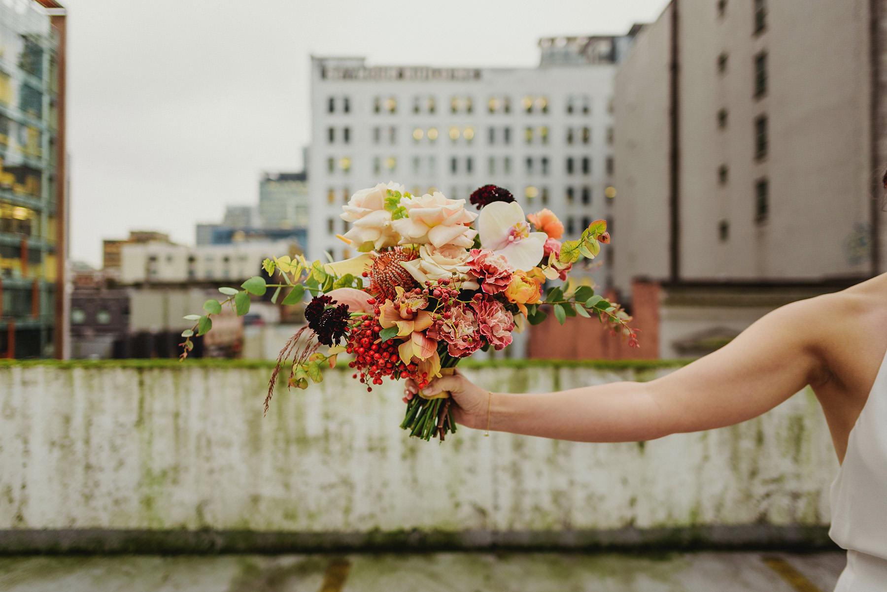 Best Bridal Bouquet Vancouver Floralista