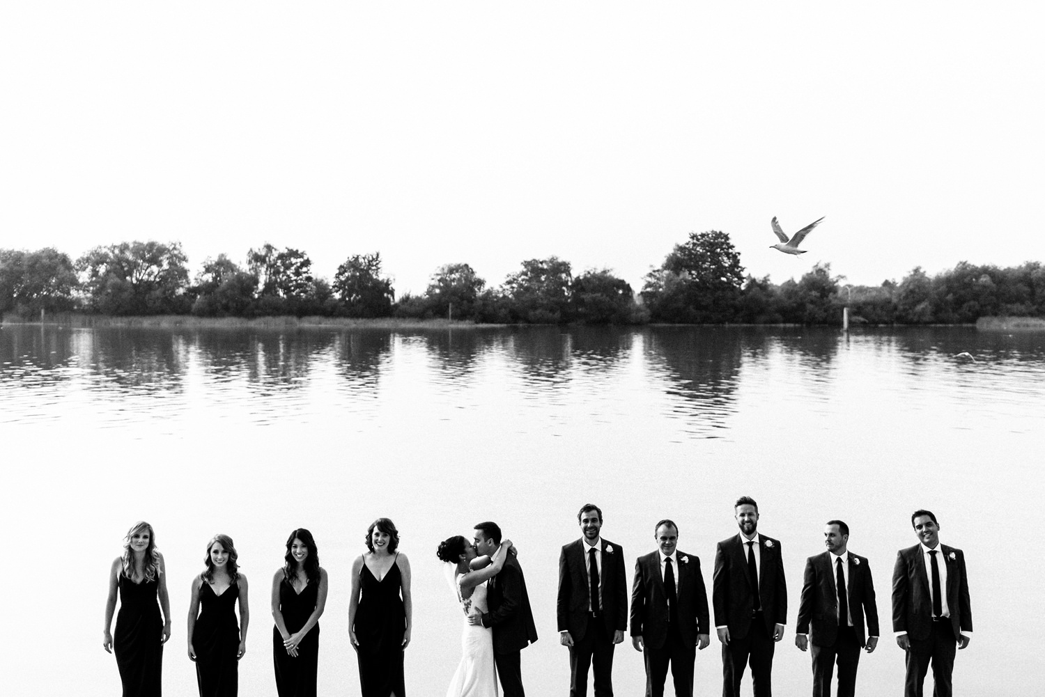 UBC Boathouse Bridal Party