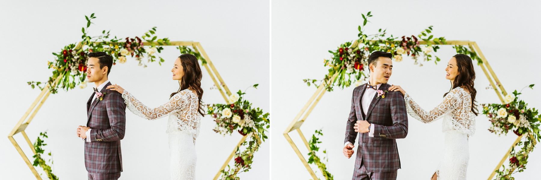 Polygon Gallery Wedding FirstLook