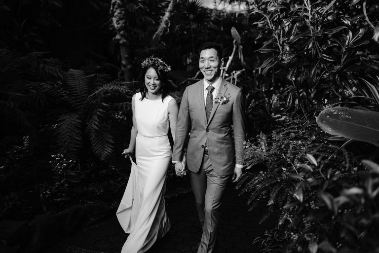 Vancouver Elopement Wedding Photography, Bloedel Conservatory Elopement