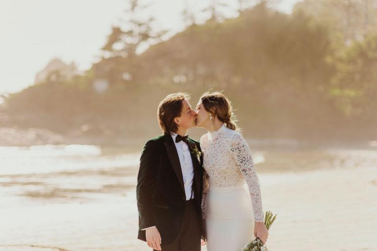 Vancouver elopement photography Tofino